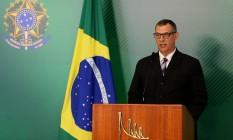 Briefing do porta-voz da Presidência da República, Otávio do Rêgo Barros Foto: Jorge William / Agência O Globo