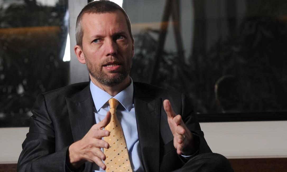 Jerome Cadier, presidente da operação Brasil da Latam Foto: Silvia Costanti / Agência O Globo
