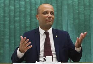 Líder do governo na Câmara, deputado Major Vitor Hugo (PSL-GO) Foto: Fabio Rodrigues Pozzebom / Agência Brasil