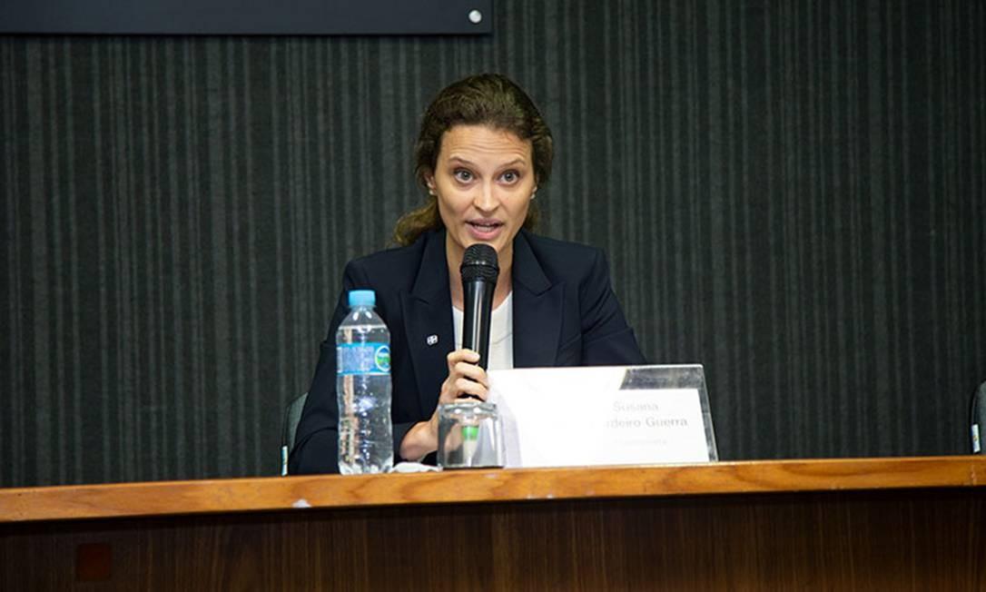 A nova presidente do IBGE, Suzane Cordeiro Guerra Foto: Licia Rubinstein / Agência O Globo