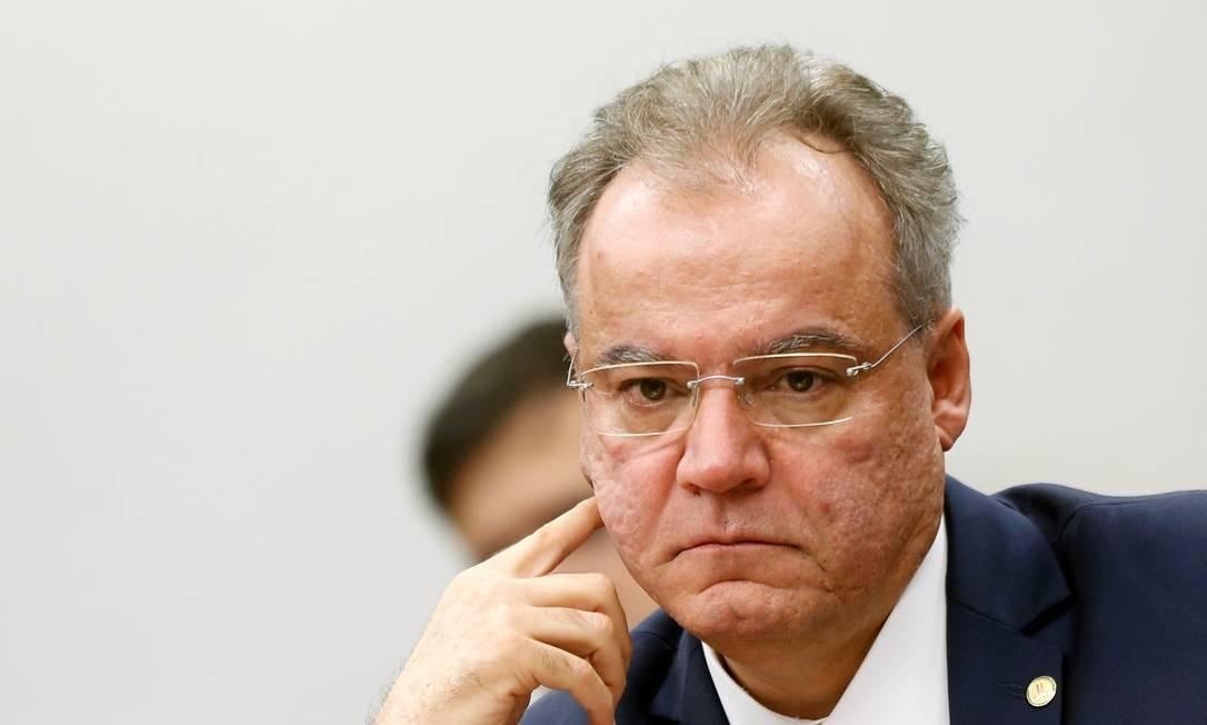 Relator da reforma da Previdência na comissão espeical da Câmara, Samuel Moreira Foto: Reuters