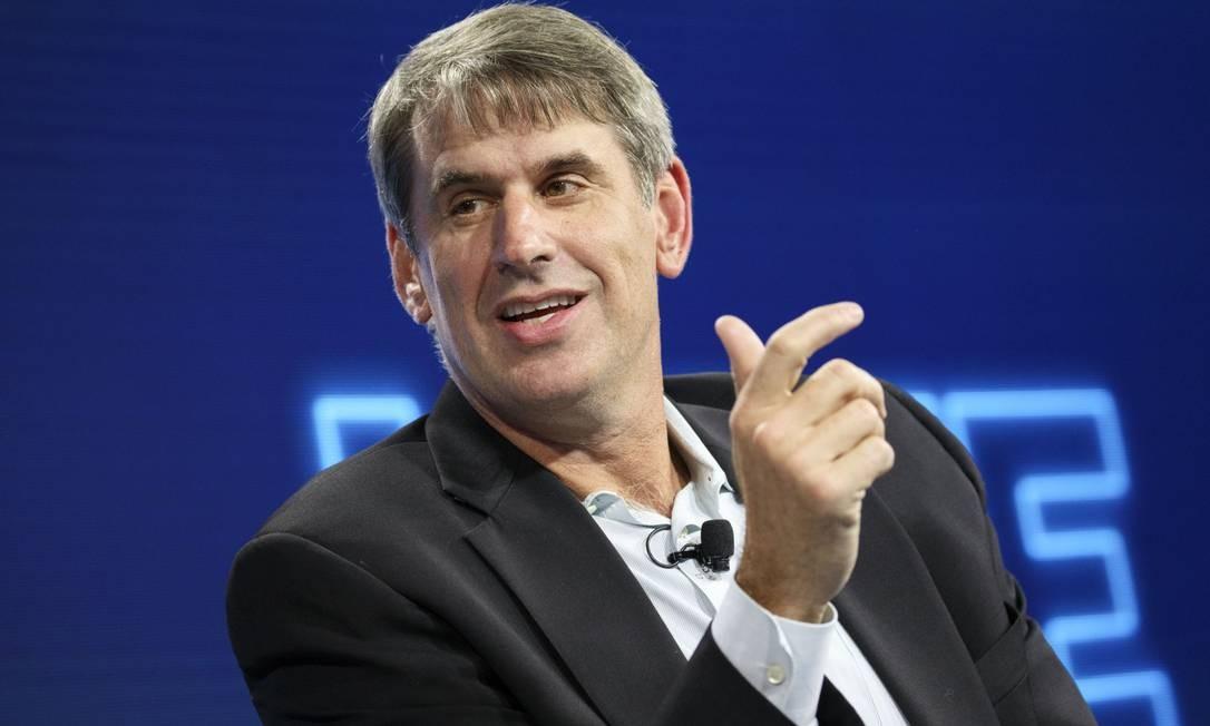 Bill Gurley, investidor da Uber e responsável pela renúncia do fundador da companhia Foto: Patrick T. Fallon / Bloomberg