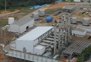 Usina Terméletrica Tambaqui Foto: Petrobras