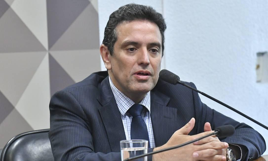 Leonardo Rolim, novo presidente do INSS Foto: Geraldo Magela / Agência Senado