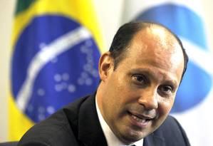 O presidente da Agência Nacional de Aviação Civil (ANAC), José Ricardo Botelho Foto: Jorge William / Agência O Globo