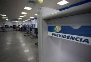 Equipe econômica negocia um relatório alternativo para facilitar a aprovação da reforma da Previdência Foto: Agência O Globo