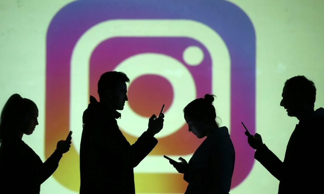 Instragram: influenciadores recebem para citar marcas em suas postagens Foto: Dado Ruvic / REUTERS