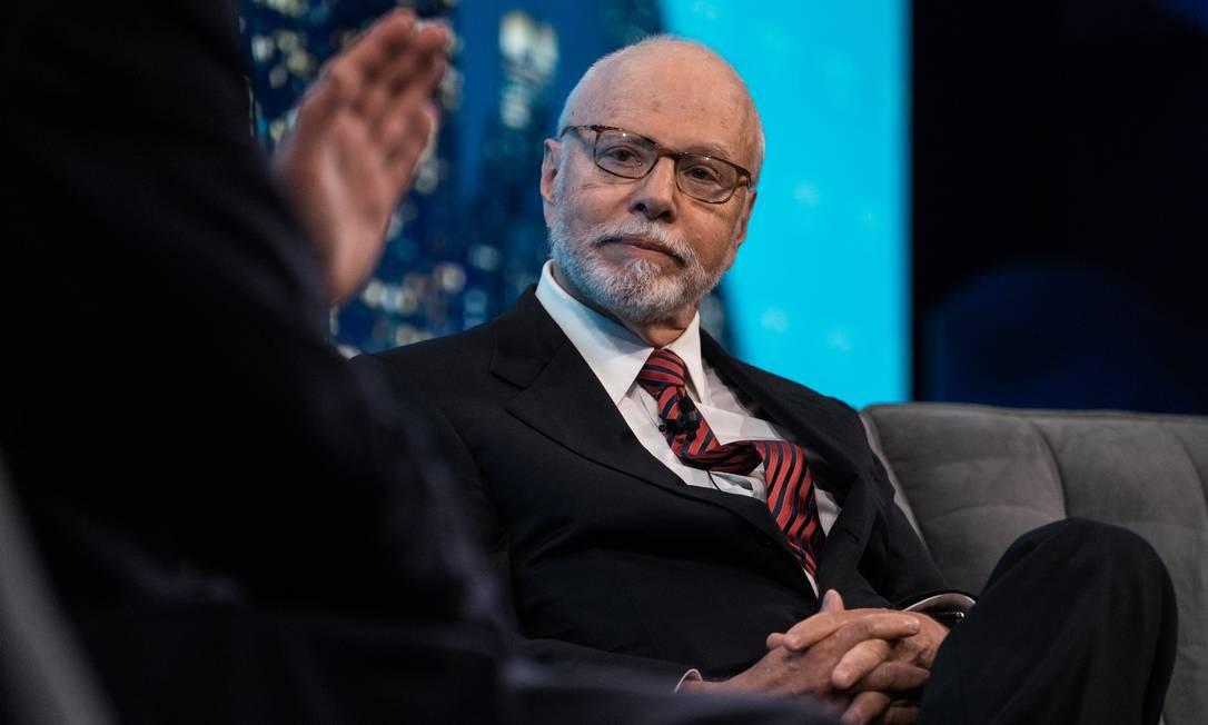 Paul Singer, fundador e presidente do fundo de investimento Elliott Foto: Misha Friedman/Bloomberg/7-6-2017 / Bloomberg