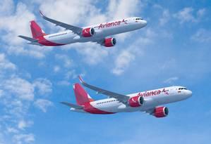 Aiões da Avianca Holdings Foto: Reprodução