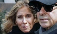 Carlole Ghosn e o marido Carlos Ghosn Foto: Reprodução