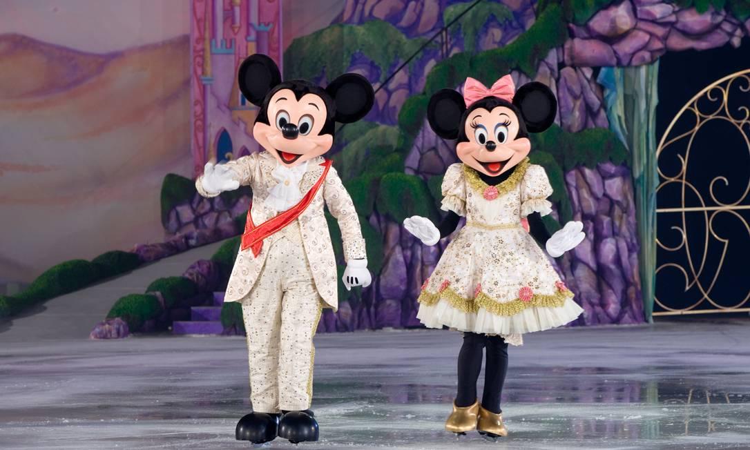 Investidores brasileiros poderão comprar ações de gigantes como a Disney Foto: Heinz Kluetmeier / Feld entertainment