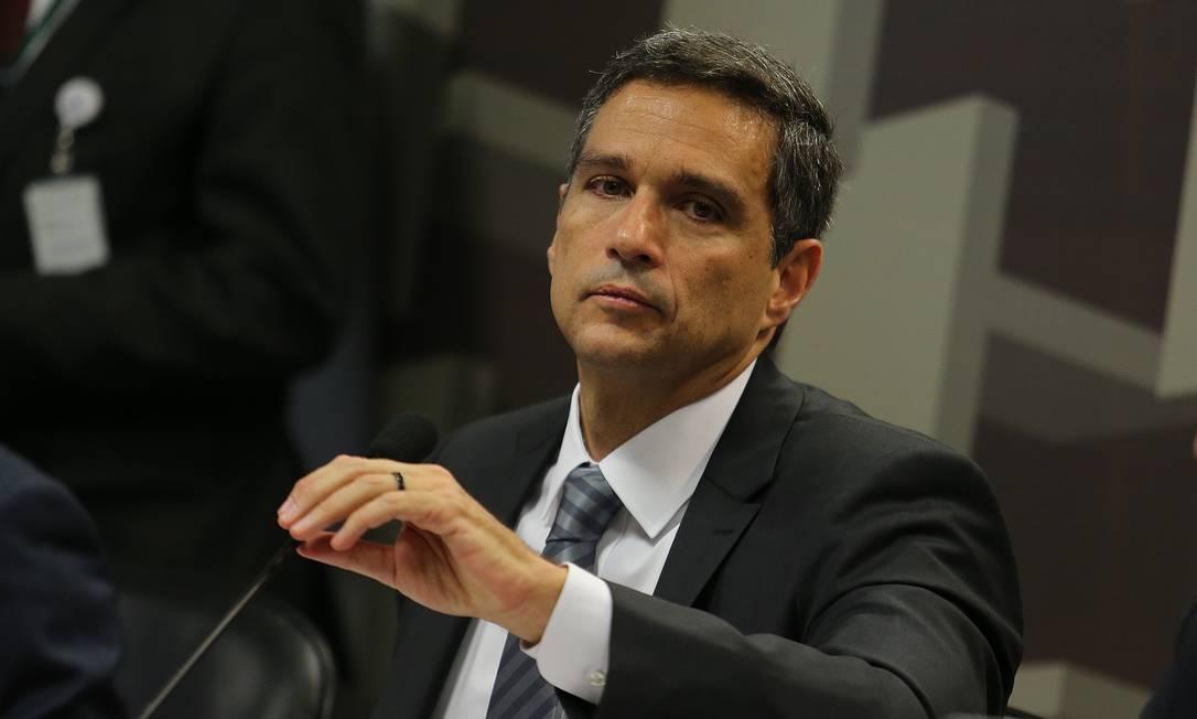 Roberto Campos Neto, presidente do Banco Central (BC) Foto: Jorge William / Agência O Globo