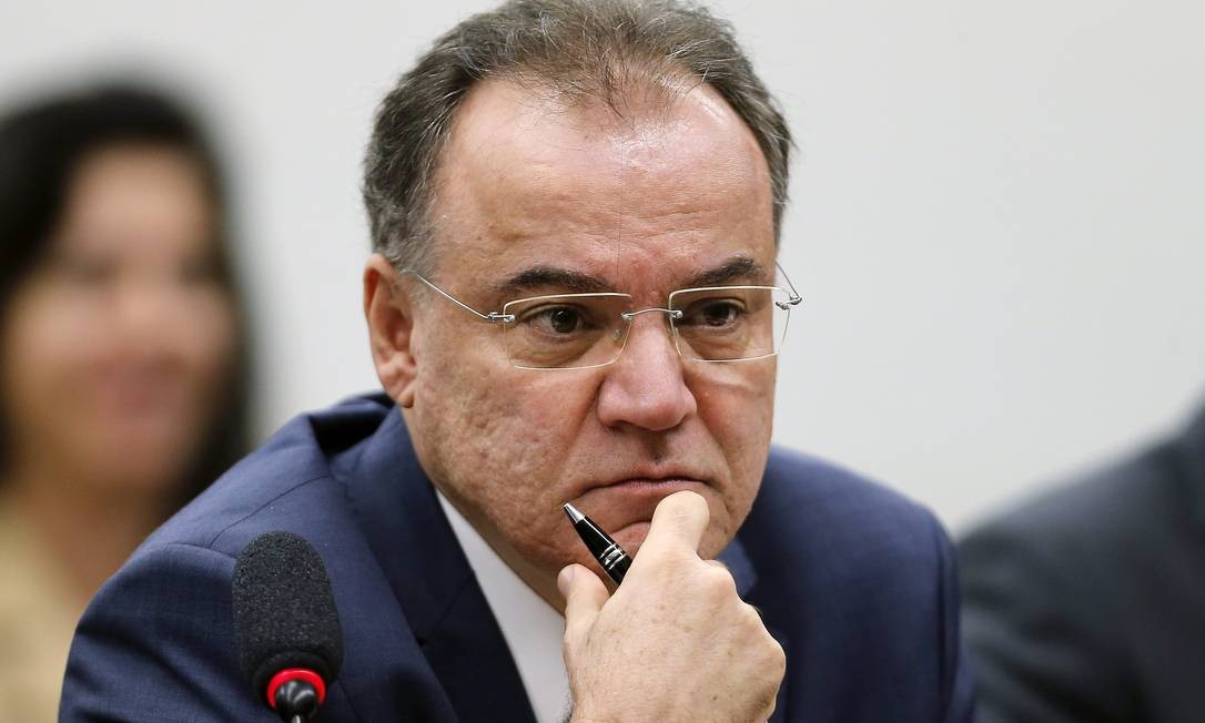 Deputado Samuel Moreira (PSDB-SP), relator da reforma da Previdência Foto: Jorge William / Agência O Globo