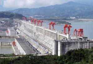 Hidrelétrica de Três Gargantas Foto: Reprodução