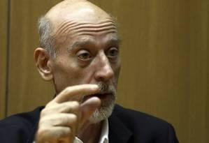 Paulo Tafner, economista especializado em Previdência Foto: Agência O Globo