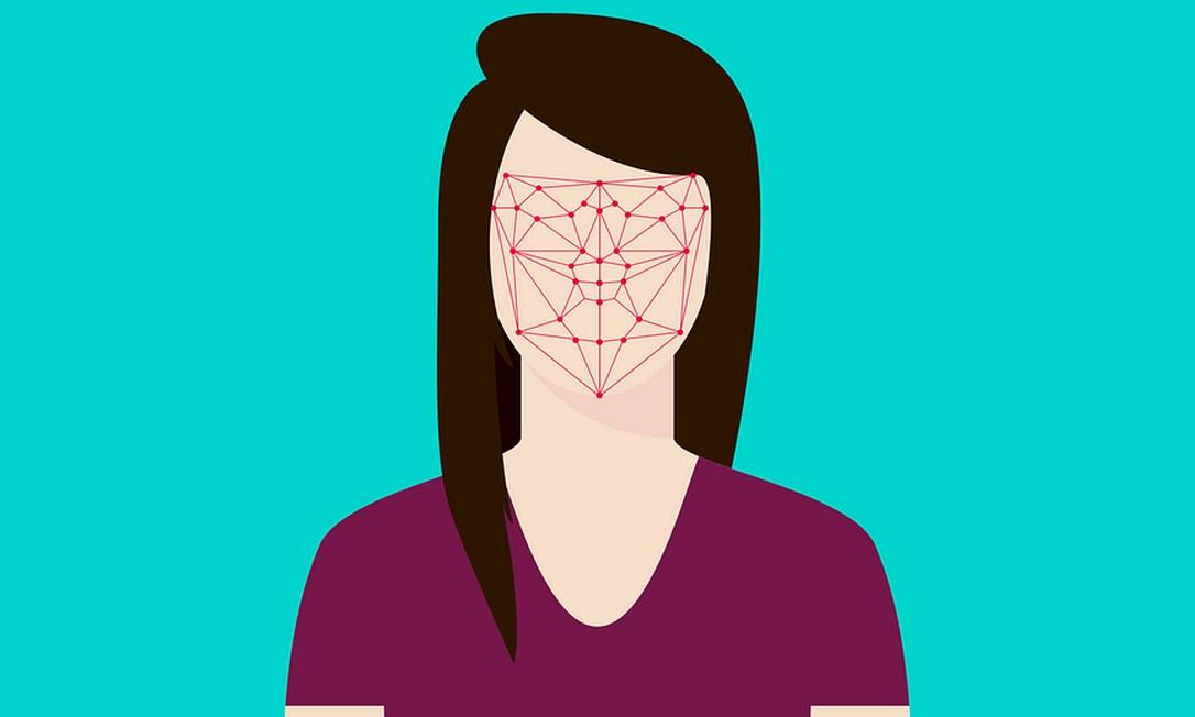 Programa de reconhecimento facial Foto: Pixabay
