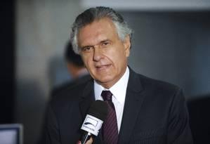 Ronaldo Caiado, governador de Goiás Foto: Jefferson Rudy / Agência Senado