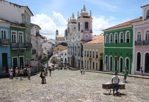Pelourinho, em Salvador, é um dos destinos mais procurados por turistas Foto: Eduardo Maia