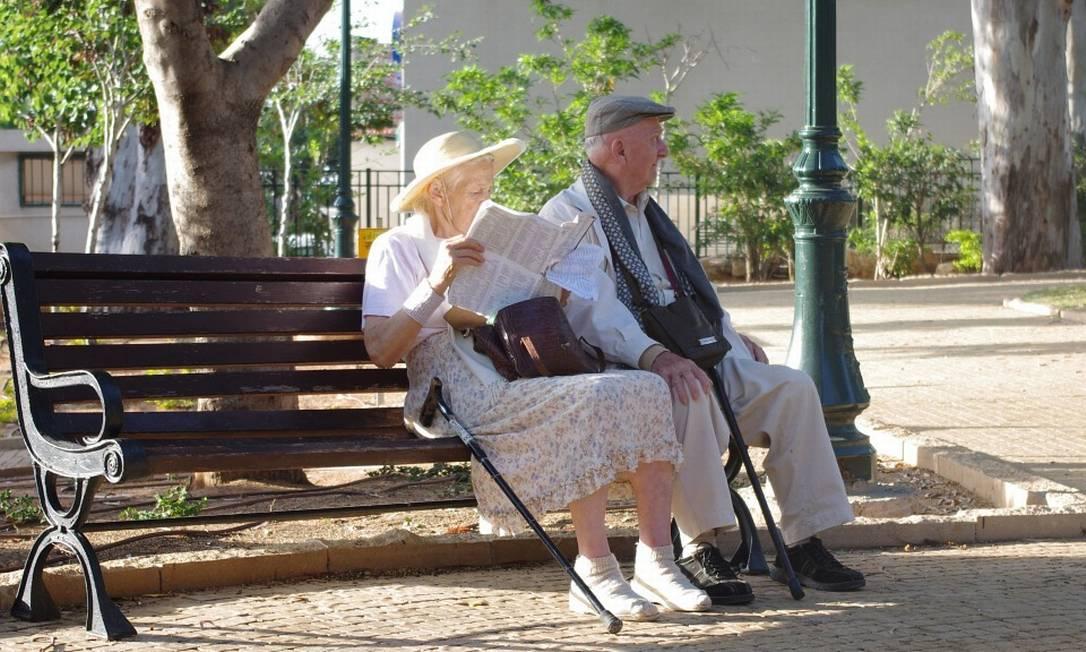 Casal de aposentados Foto: Pixabay