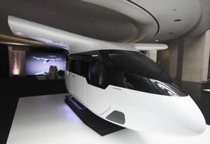 Modelo de táxi voador que será testado pela Uber Foto: Divulgação