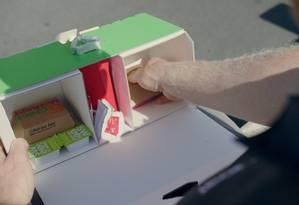 Uber Eats fecha parceria com McDonald's para enterega com drone Foto: Divulgação