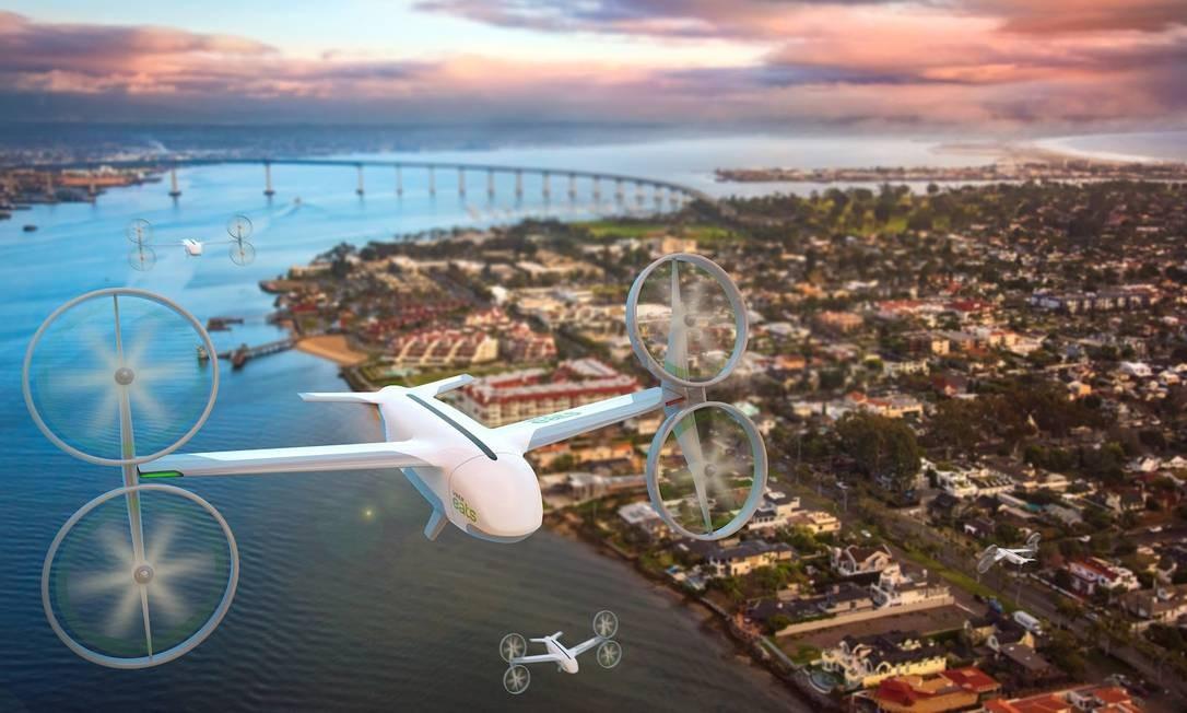 Uber Eats e McDonald's fecham parceria para testar serviço de entrega por drones Foto: Divulgação
