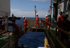 Petrobras recebe propostas pelos polos de Enchova e Pampo Foto: Reuters