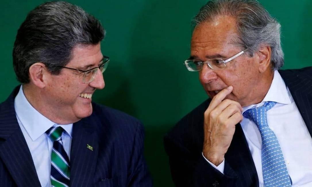 Joaquim Levy foi convidado para presidir o BNDES por Paulo Guedes Foto: Reprodução