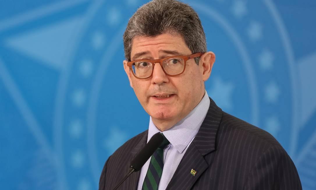 (Brasília - DF, 13/06/2019) Palavras do Presidente do BNDES, Joaquim Levy. Foto: Marcos Corrêa/PR Foto: Agência O Globo