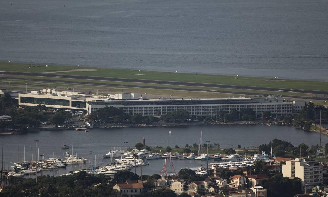 Aeroporto Santos Dumont (SDU) Foto: Gabriel Monteiro / Agência O Globo