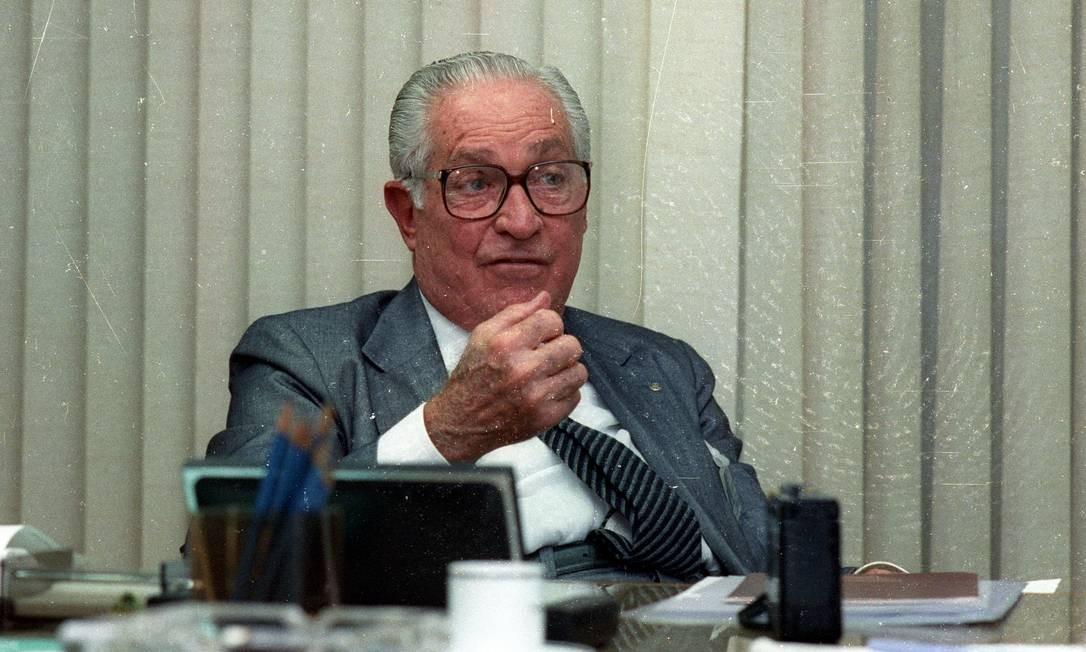 A empresa foi fundada em 1944, quando Norberto assumiu o comando dos negócios do pai, Emílio, que estava atolado em dívidas por causa da crise da construção civil durante a Segunda Guerra Mundial. Foto: Ricardo Mello / Agência O Globo