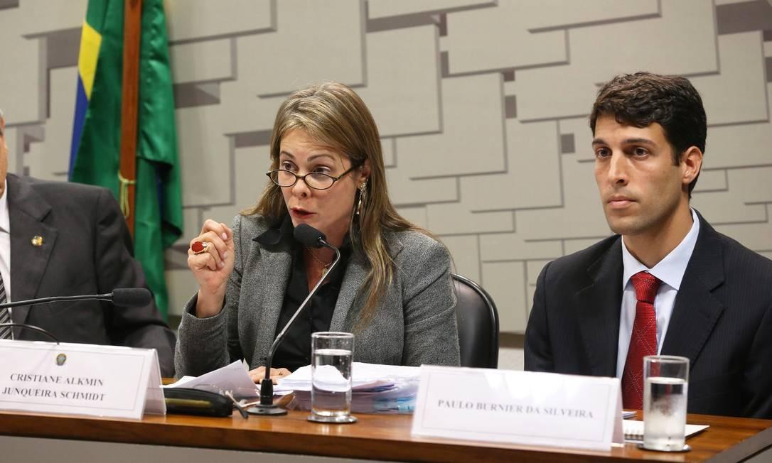 Secretária de Fazenda do Estado de Goiás Foto: Aílton de Freitas / Agência O Globo