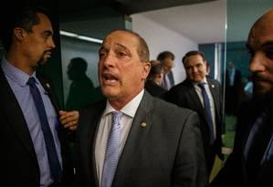 Ministro - chefe da Casa Civil, Onyx Lorenzoni Foto: Daniel Marenco / Agência O Globo