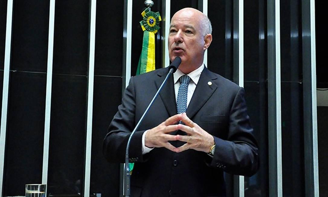Herculano Passos (MDB-SP) foi escolhido como novo vice-líder do governo na Câmara dos Deputados Foto: Agência Câmara