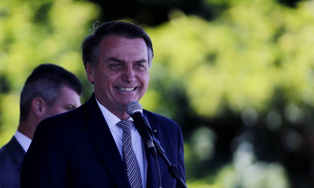 O presidente Jair Bolsonaro dará licença aos ministros Foto: Jorge William / Agência O Globo