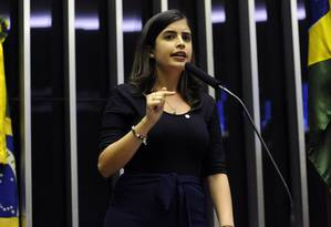 A deputada Tabata Amaral (PDT - SP) declarou voto favorável à reforma contrariando a orientação do partido Foto: Luis Macedo / Agência Câmara