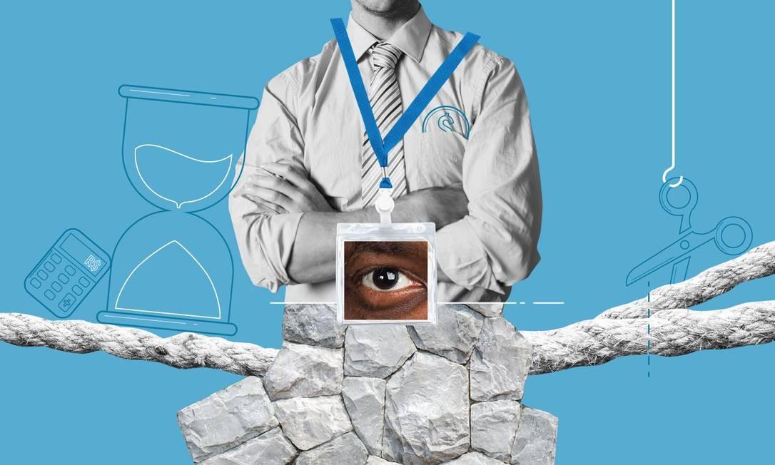 Reforma da Previdência Foto: Ilustração O GLOBO