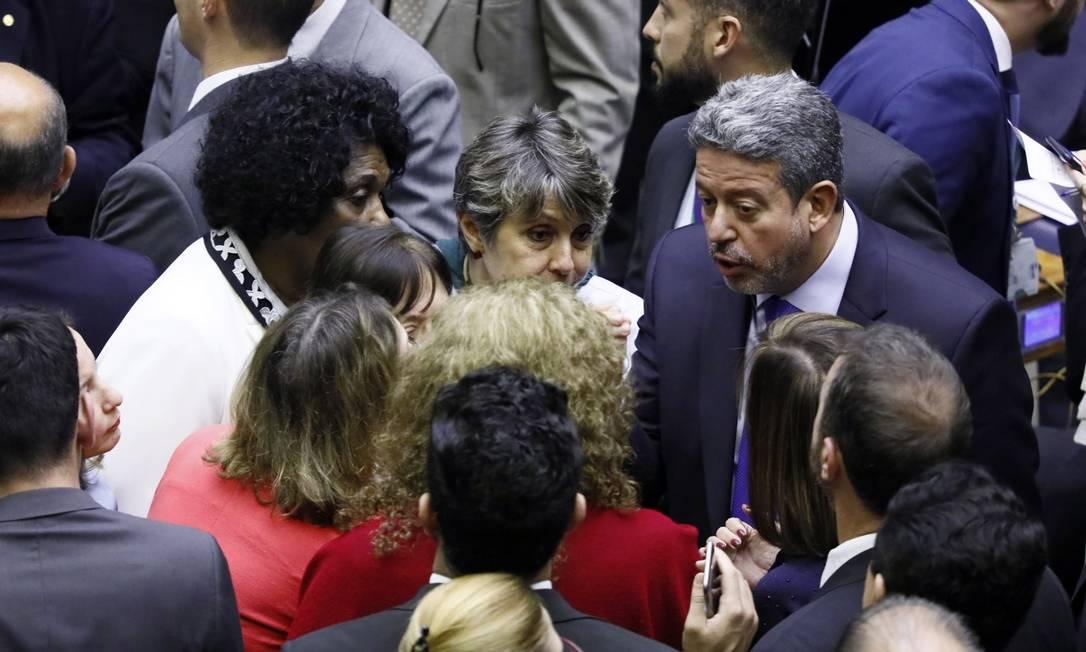 Sessão para continuação da votação da Reforma da Previdência Foto: Câmara dos Deputados