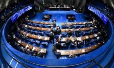 Reforma da Previdência tramita no Senado Foto: Reprodução