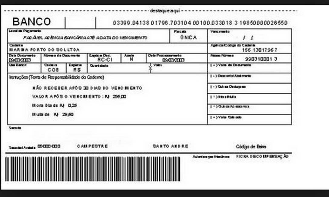 Bancos terão que oferecer formas de cliente verificar se boleto não é fraudado Foto: Reprodução