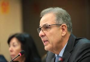 Ministro de Minas e Energia, Bento Albuquerque Foto: Saulo Cruz / Agência O Globo