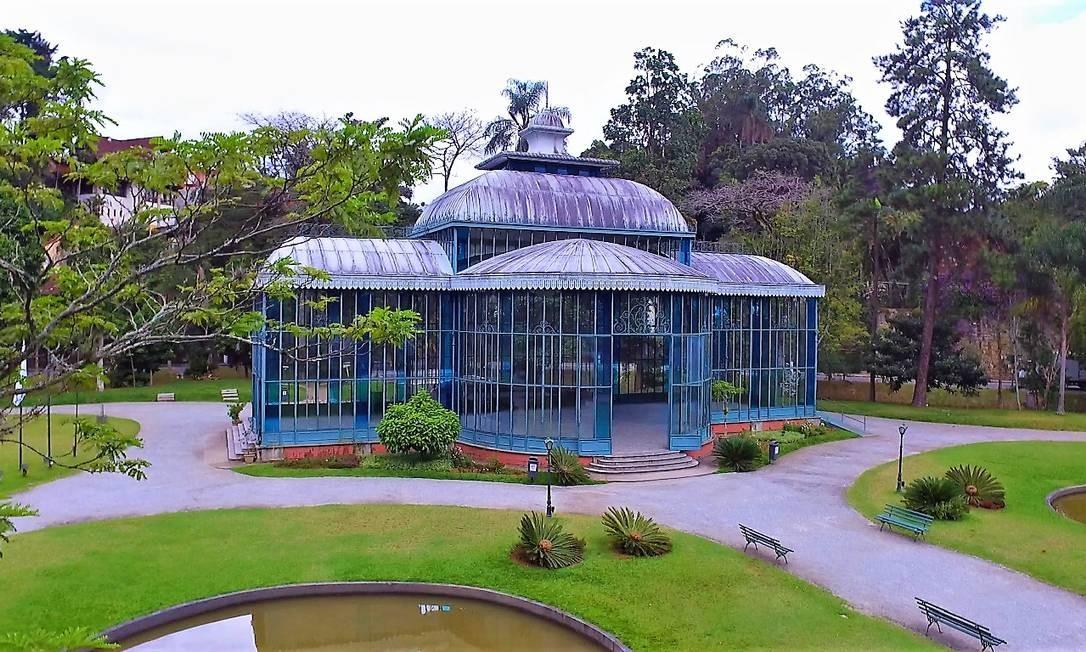 Palácio de Cristal, em Petrópolis Foto: Divulgação
