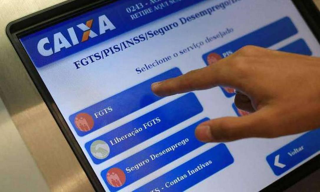 Governo anuncia novas regras para o FGTS Foto: Reprodução