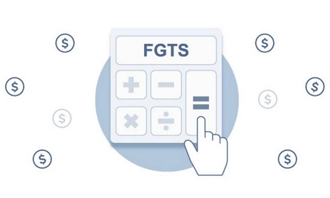 Calculadora do FGTS Foto: Criação Infoglobo