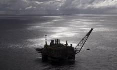 Plataforma de produção da Petrobras em águas profundas Foto: Divulgação