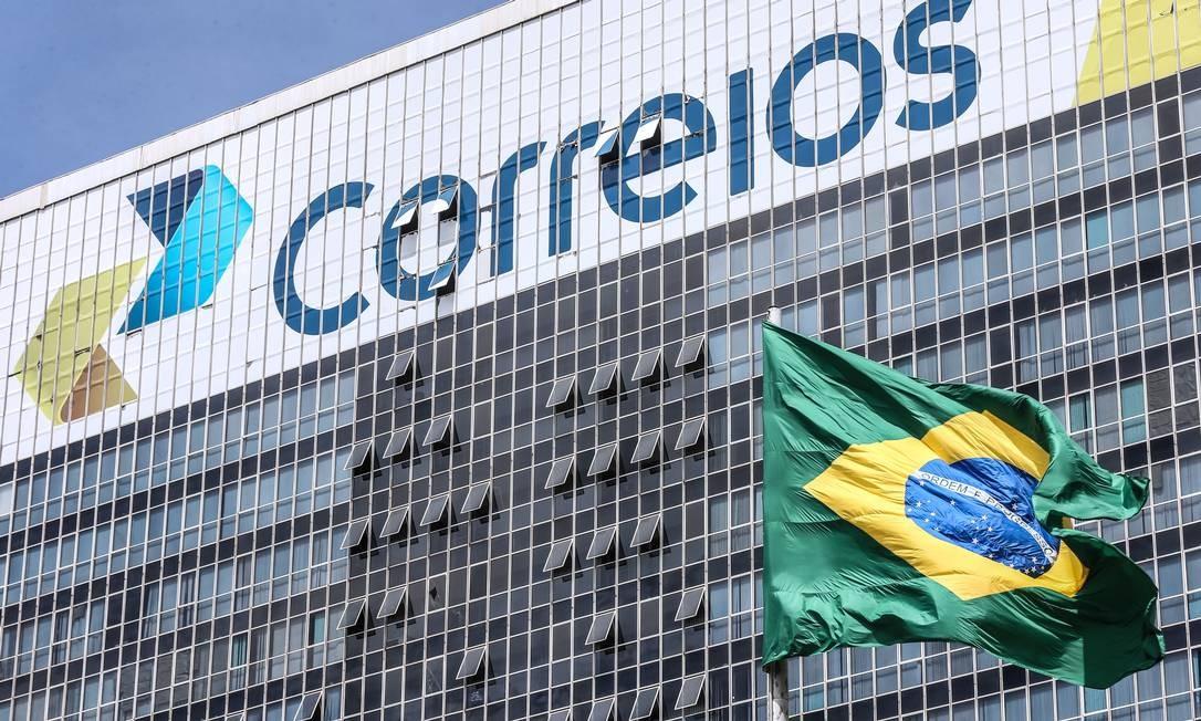 Sede dos Correios em Brasília Foto: André Coelho / Agência O Globo