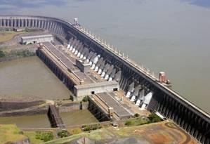 Hidrelétrica de Itaipu. Foto: Divulgação