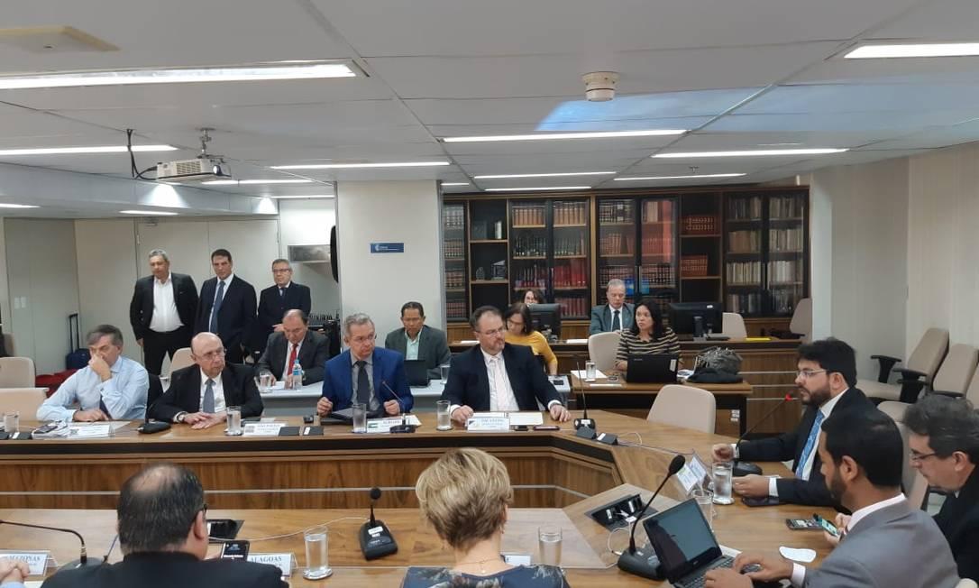 Reunião do Comsefaz, que reúne todos os secretários de Fazenda do país Foto: Marcello Corrêa / Agência O Globo