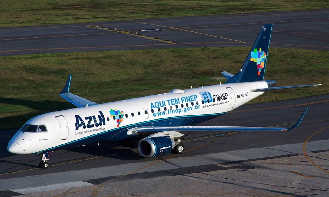 Avião da Azul Foto: Divulgação