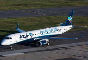 Azul ganha 15 slots no aeroporto de Congonhas Foto: Divulgação